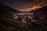 Olgiasca village sunset - 233825053
