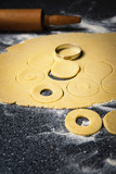 Molded dough for pies - 233832045