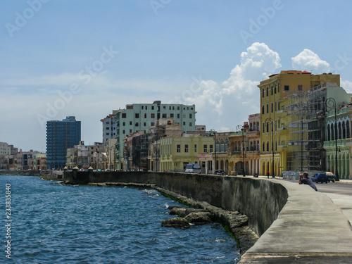 fototapeta na ścianę Malecon (embankment) in Havana