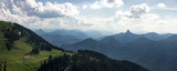 Dramatic mountain landscape from top of Wallberg in Germany - 233836035