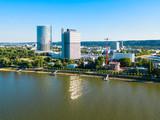 Bonn aerial panoramic view, Germany