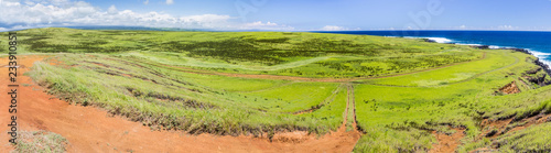 Landschaft  beim Green Sand Beach, Big Island, Hawaii - 233910851