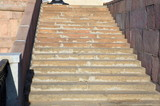 marble stairs on quay - 233937811