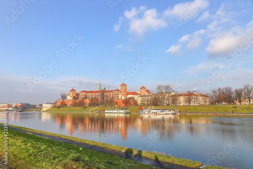 fototapeta na ścianę View of the Wawel Castle in Cracow, Poland