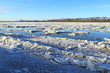 Yukon river, Ruby, Alaska,USA,winter