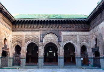 Madrasa Bou Inania, Fez, Morocco, 2017