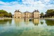 Leinwandbild Motiv Blick auf den Luxemburggarten in Paris, Frankreich