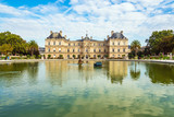 Blick auf den Luxemburggarten in Paris, Frankreich © Rico Ködder