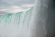 Huge Waterfall with spray and mist