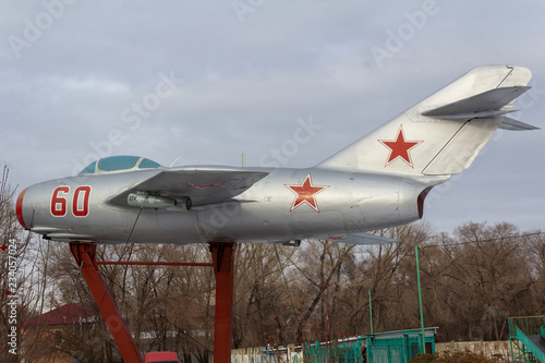 fototapeta na ścianę The Soviet fighter MIG-15