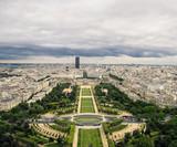 Bonitas vistas del Campo de Marte desde la Torre Eiffel © Victor
