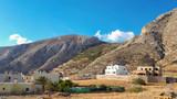 The mountain in Kamari, Santorini