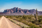 Trail To Superstition Mountain