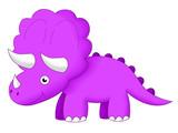 dinosaur triceratops © 49877119ton