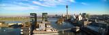 Panorama Medienhafen Düsseldorf von oben