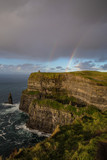 Double rainbow over the Cliffs of Moher, Ireland © Mike