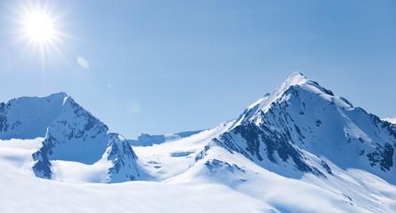 Winter im Hochgebirge