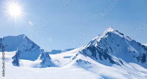 Zima w wysokich górach