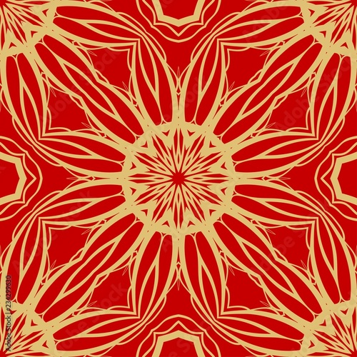 vector paper for scrapbook. Luxury texture for wallpaper, invitation. Seamless floral ornament
