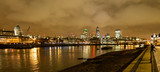 London at night skyline © Racer57