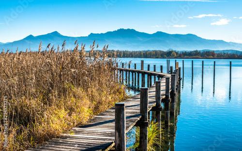 Leinwanddruck Bild lake chiemsee - bavaria