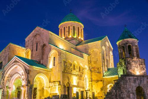 Leinwandbild Motiv Bagrati Cathedral in Kutaisi, Georgia