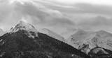 Mountain landscape. Snow covered mountain. © Laszlo