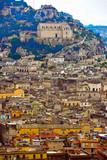 panorama of scicli, sicily, italy © maudanros