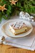 Polish christmas cheesecake
