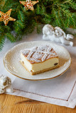 Polish christmas cheesecake