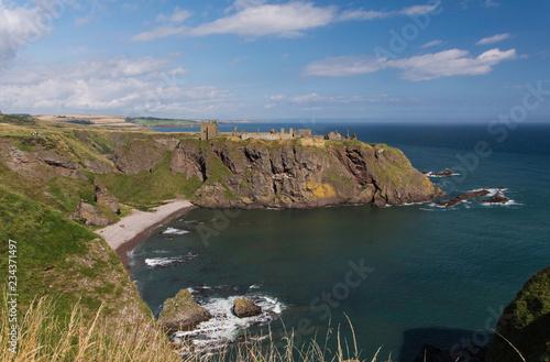canvas print picture Dunnottar Castle, Schottland