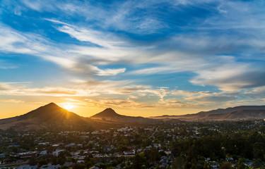 Peaking Sun, San Luis Obispo, CA