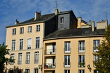 Rouen, France - september 9 2018 : house in the historical town © PackShot
