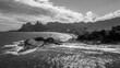Quadro Arpoador rocks and beach