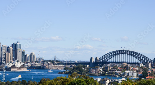 fototapeta na ścianę Sydney Harbour Bridge und Opernhaus