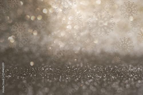 Leinwandbild Motiv Festive christmas background