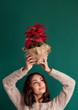 christmas plant gift natural organic