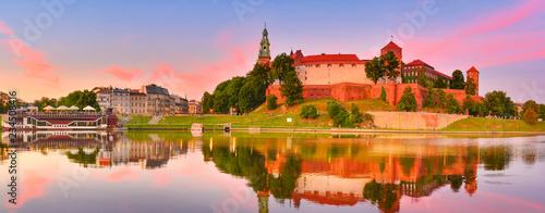 Wawel at sunset