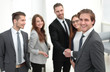 Leinwanddruck Bild - Business Partner Shake Hands on meetinig