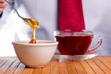 Fragrant fresh honey
