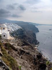 Cityscape on the island of Santorini, Greece © Alexander