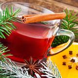 Glühwein hot spiced wine - 234545663