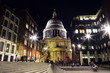 st paul's cathedral london night