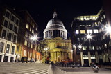 st paul's cathedral london night © Iliya Mitskavets