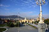 Panorama of Tbilisi, Georgia.
