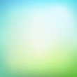 Abstract blurred gradient mesh background in green colors. Smoot