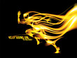 Abstract Flaming Art in Vector - 234631289