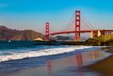 Baker Beach and the Golden Gate Bridge © natandedecker