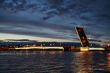 White nights. Saint Petersburg. Литейный мост. © Надежда Бакотина