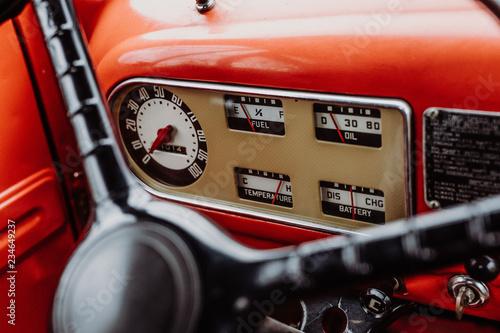 obraz lub plakat Ford F6 Feuerwehr Oldtimer